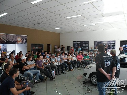 Workshop Podium Sign - Bauru - SP