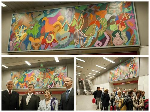 Embamex Hungría foto Mural