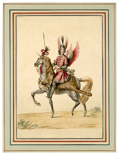 004-Carrousel des galans Maures de Grenade…1685- Jean Berain- INHA