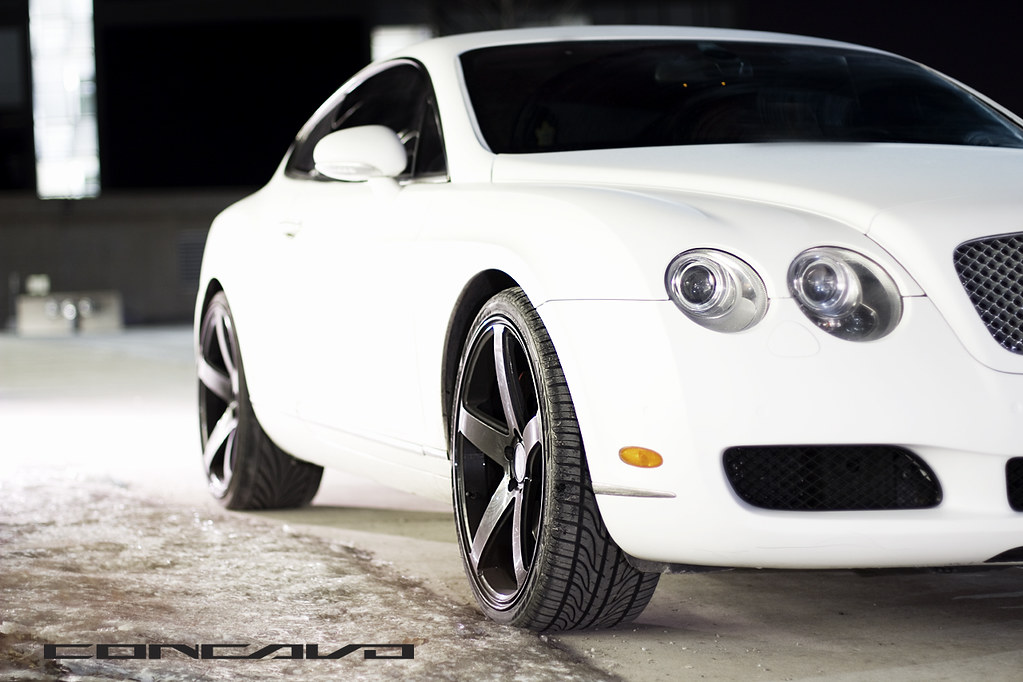 Matte White Bentley Continental Gt Concavo Cw 5