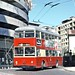 STCP Porto: Trolleybus 114 turning into Rua do Bolhao on route 29 by Mega Anorak