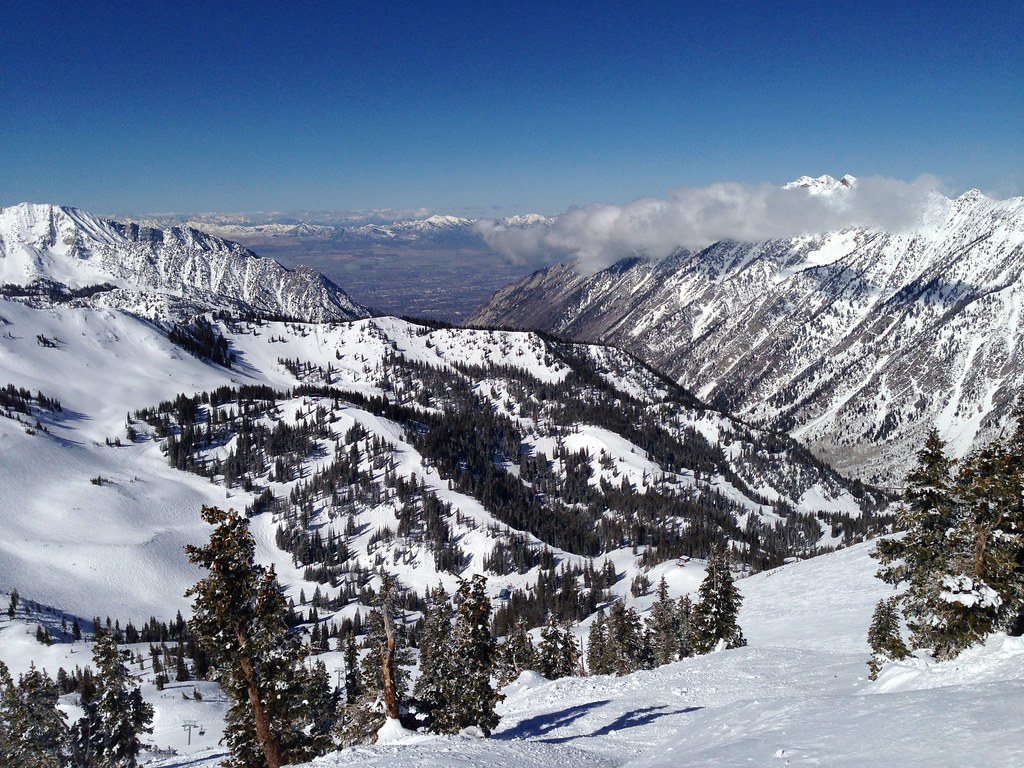 Snowbird Ski Resort view