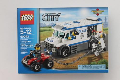 Philly Brick Fest Swag - LEGO City Prisoner Transporter (60043)