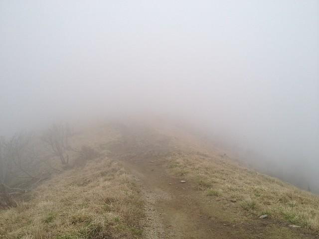 武奈ヶ岳 山頂前ピークより