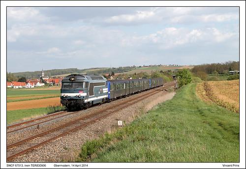 SNCF 67513 - Obermodern - TER830906 (14-04-2014)
