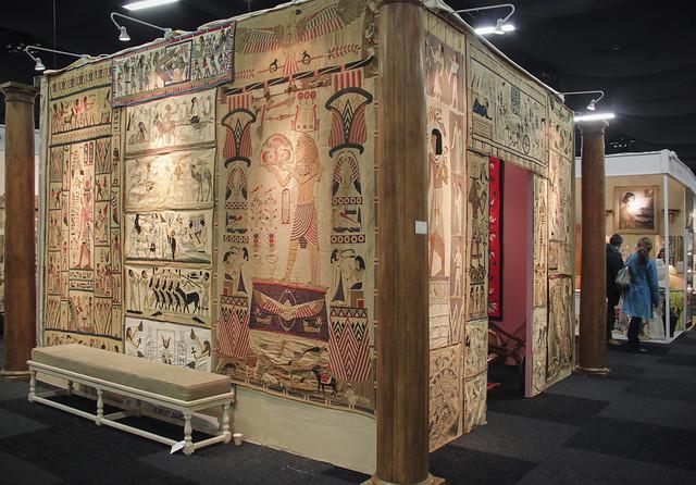 Egyptian themed display