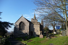 Churches with Grave Yards (God's Acre)