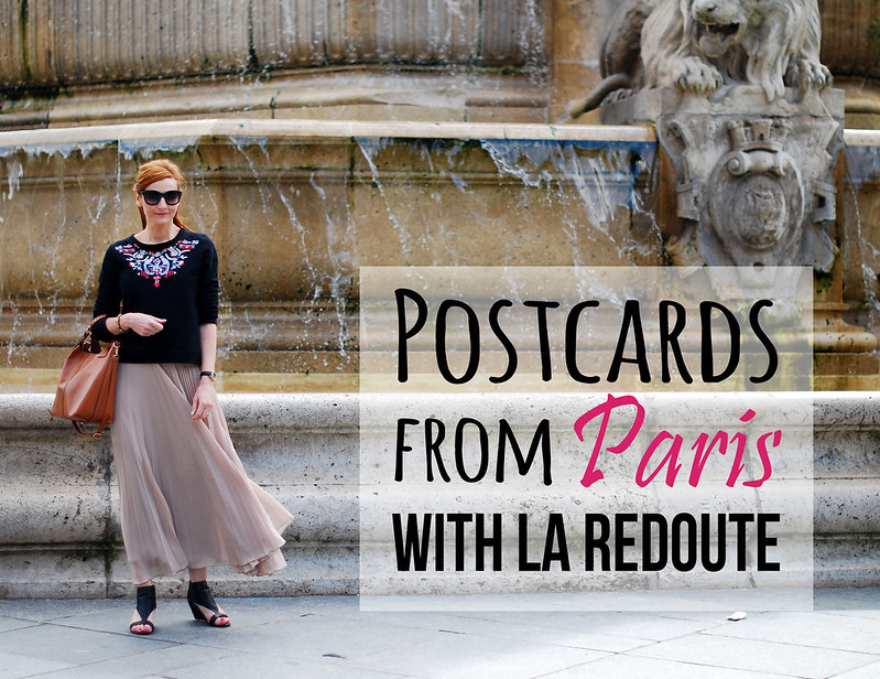 A postcard from paris with la redoute la deuxi me partie not dressed as lamb - Magasins la redoute paris ...