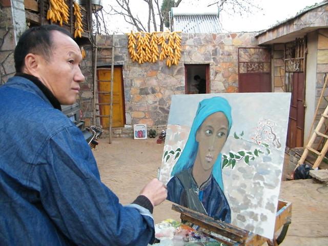 2010年圭山人像写生