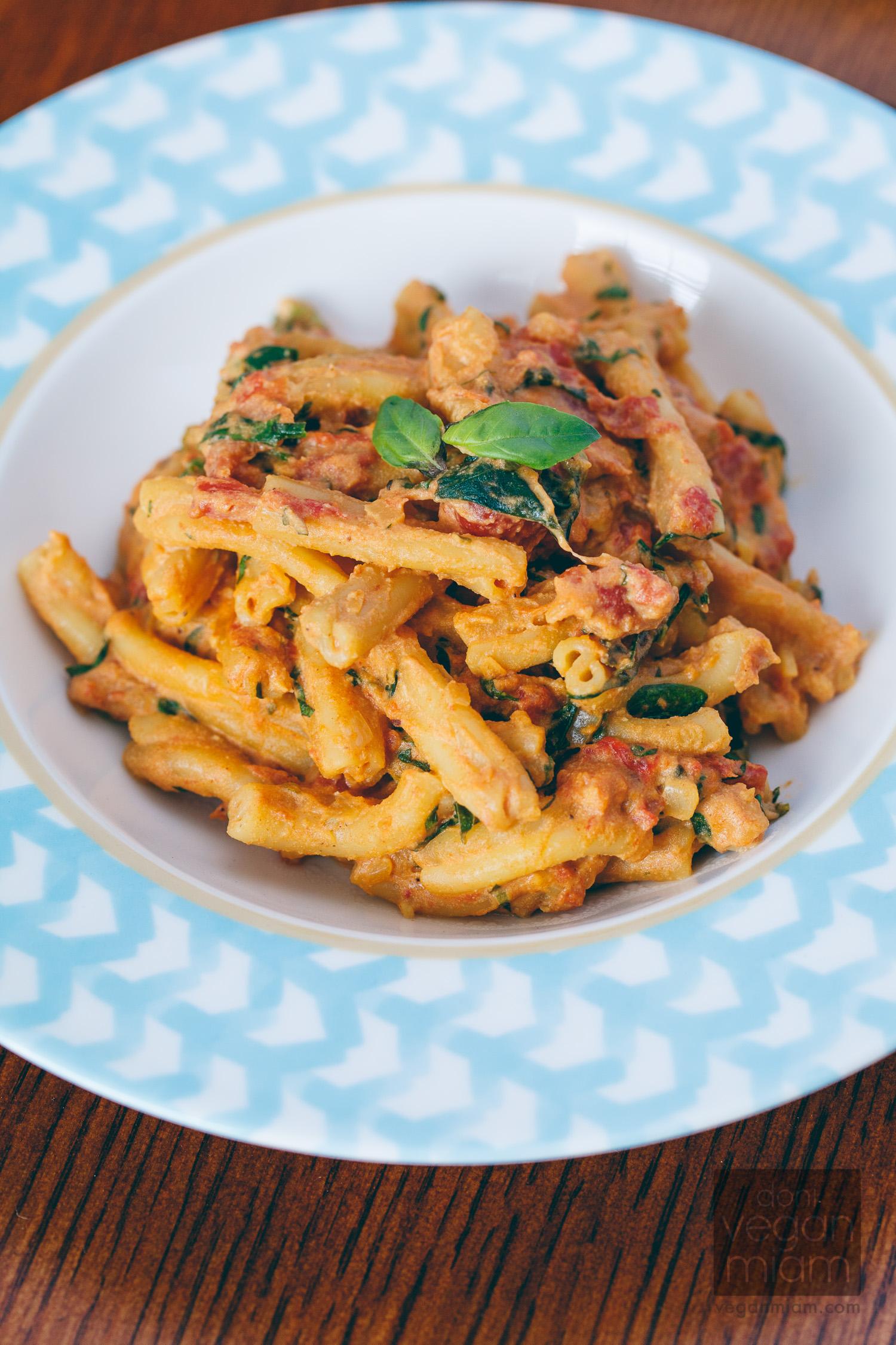 Luxurious Tomato-Basil Pasta