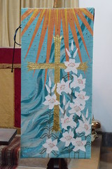 CHURCH EMBROIDERY/TEXTILES - Banners, Altar Frontals and kneelers +