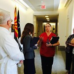 Nurses Take Campaign to Heal America to Congress