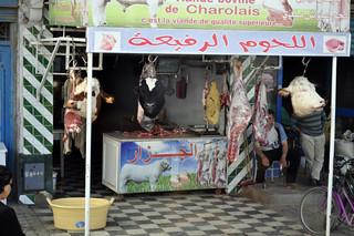 Cabezas de animales en las carnicerías de Kairouan Kairouan, la cuarta ciudad más santa de la fe musulmana - 14105351186 a3480af67c n - Kairouan, la cuarta ciudad más santa de la fe musulmana