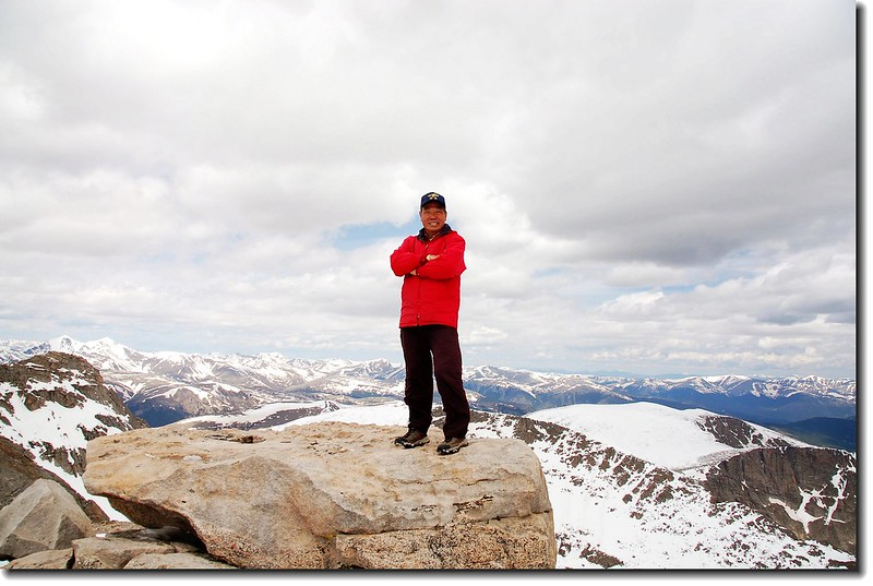 I'm on the Top of Mount Evans