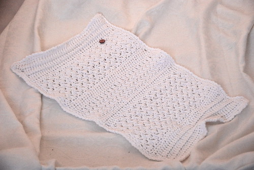 Crochet towel / bath mat