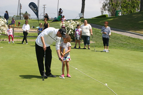 Golf Clinic with the Girls Scouts and the PGA