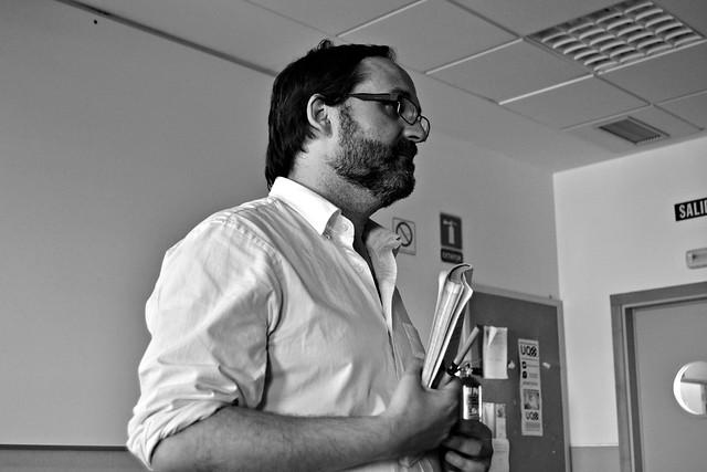 Braulio Ortiz en la FCom |© César Caso, 2014