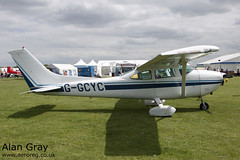 G-GCYC REIMS-CESSNA F.182Q SKYLANE 157 PRIVATE -Sywell-20130601-Alan Gray-IMG_6499