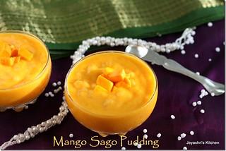 MANGO -SAGO -PUDDING