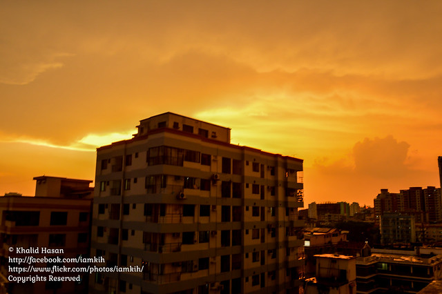 Post Thunderstorm Weather of Dhaka I