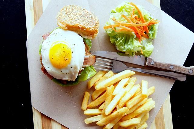 Yummy brunch at Andes BYO - Aman Suria - big breakfast, scotch eggs, french toast-004