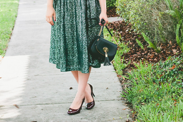 {green with envy} via chevrons & éclairs
