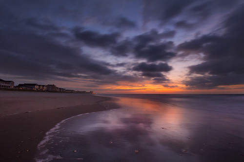 ocean blue beach sc sunrise nikon south atlantic hour carolina hdr surfside d5000
