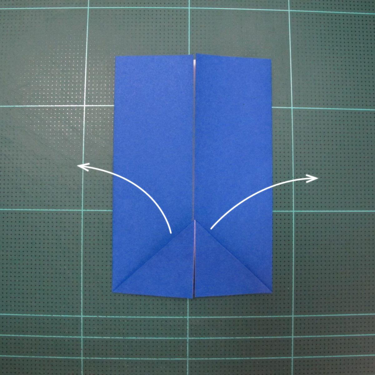 วิธีการพับกระดาษเป็นรูปกระต่าย แบบของเอ็ดวิน คอรี่ (Origami Rabbit)  006
