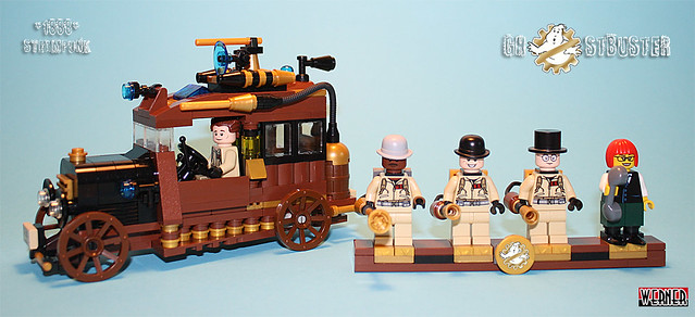 Ghostbuster Steampunk