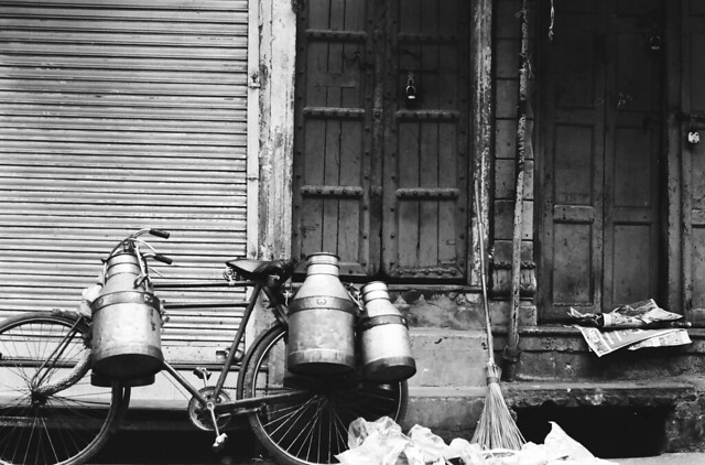 Delhi on B&W acros 100 pushed 3 stops and TMax400-15
