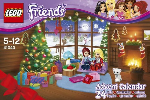 41040 Friends Advent Calendar BOX