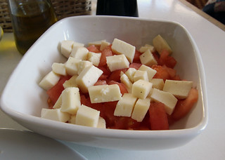 causeo queso tomate