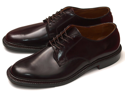 Alden / 2938F #8 Shell Cordovan Unlined Plain Toe Oxford