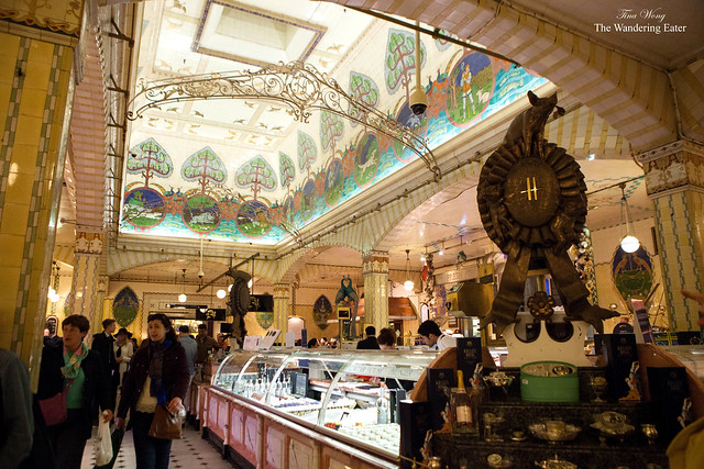 Inside Harrod's Gourmet Food Department