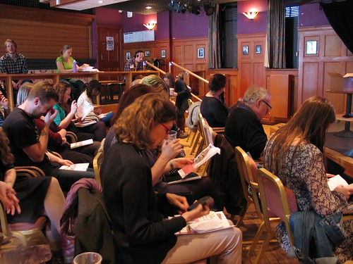 The Business writing event at Pleasance Cabaret Bar (1)