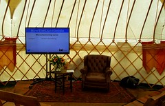 Lecture yurt