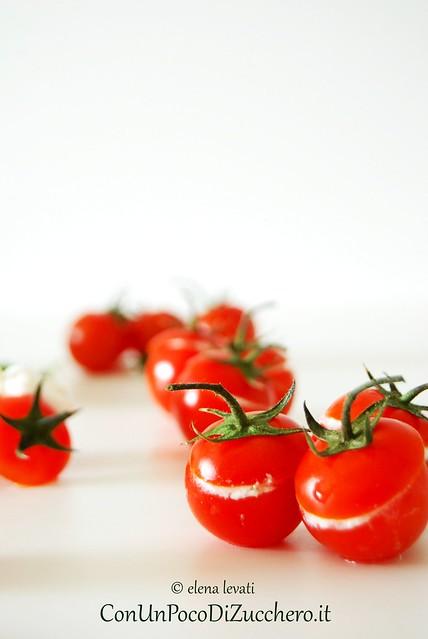Pomodorini e burrata 1