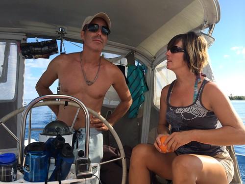 Captains Carol and LIvia