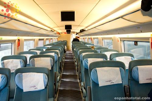 classe turista, trem-bala