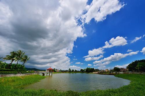 day cloudy 雲 美濃 湖 客家 中正湖