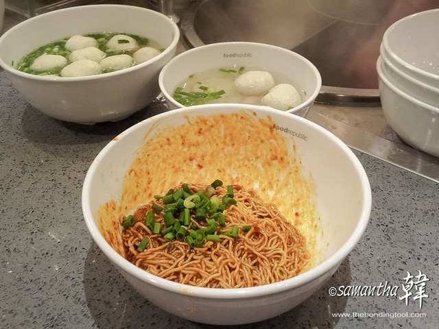 Toa Payoh Lor 7 Fish Ball Noodle Food Rep FC Lido