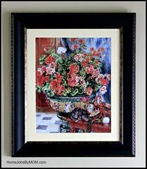 art, picture frame, painting, still life, modern art,