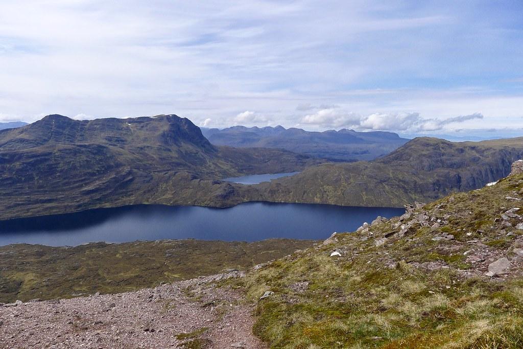 Slioch and Torridon across Lochan Fada