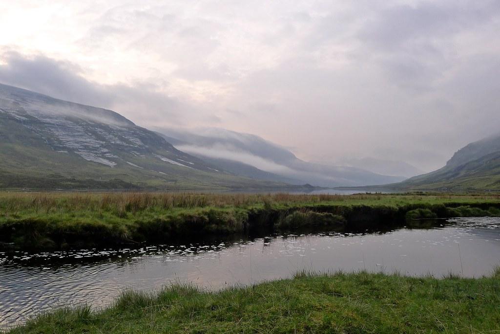Mist over Loch an Nid