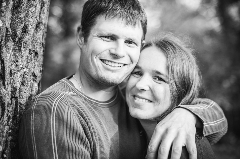 engagement session at the sawmill