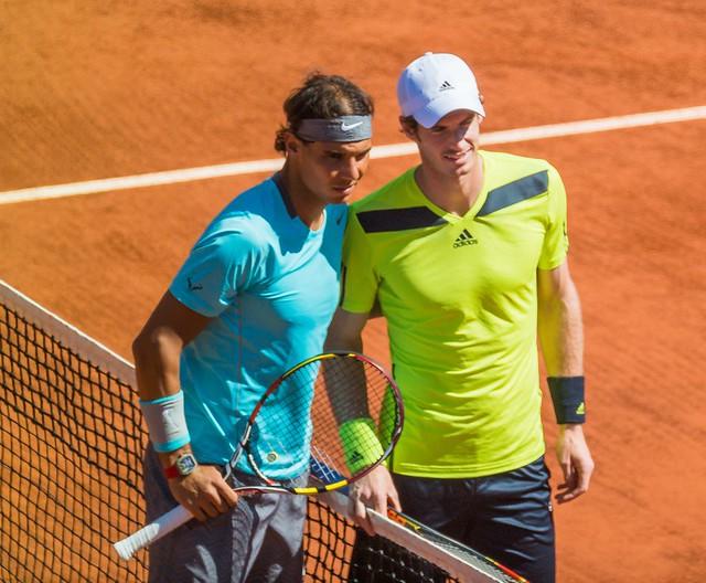 Roland Garros 2014 - Rafael Nadal & Andy Murray 01