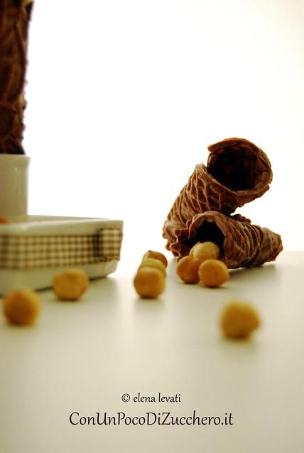 Gelato al gianduja e cono al cacao 2