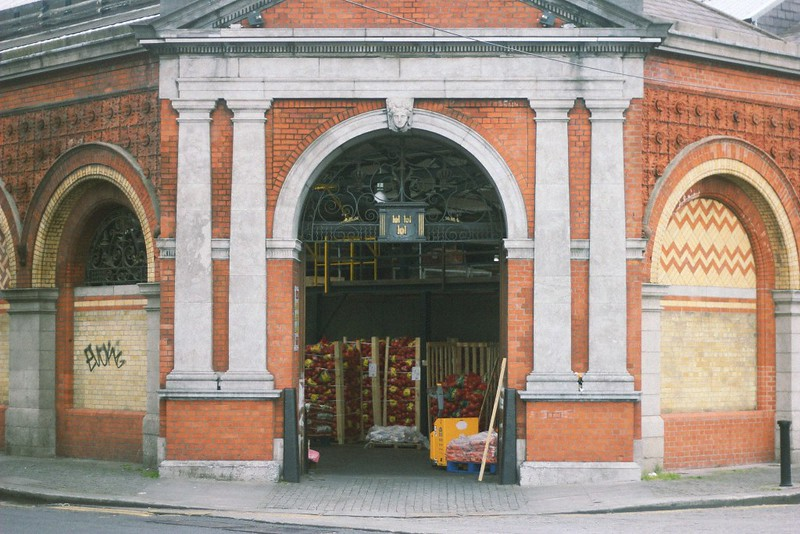 east entrance victorian market dublin