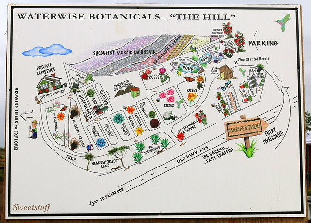 Waterwise Botanicals map
