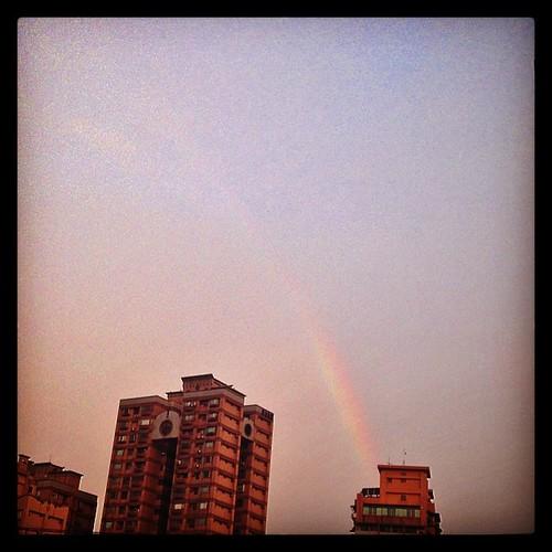 等到出彩虹!